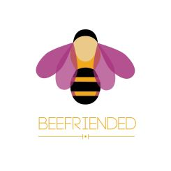 Beefriended logo by Xanthe Bodington (2)