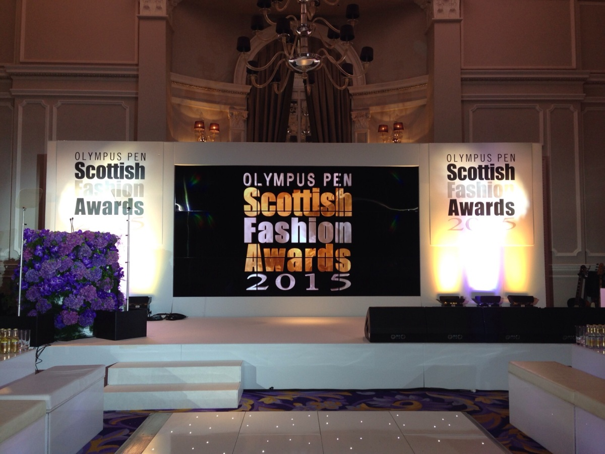 Scottish Fashion Awards Experience