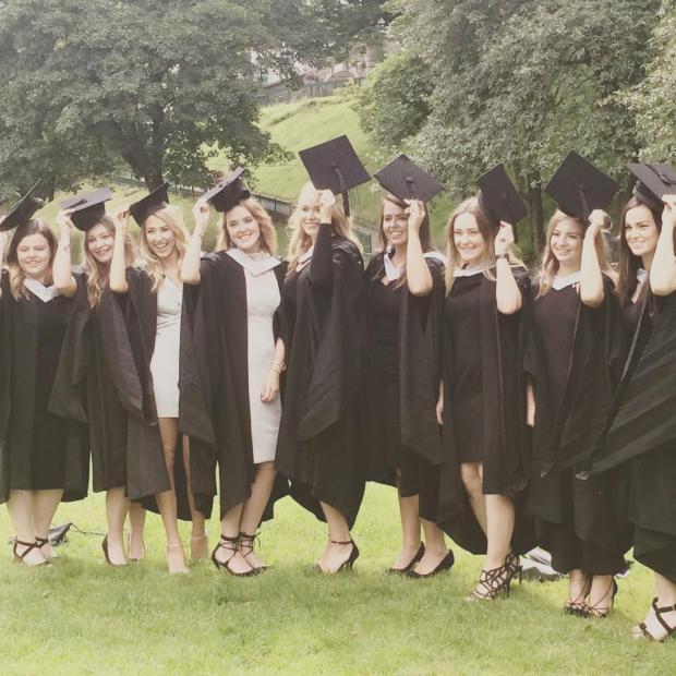 Evening Express graduation day photo